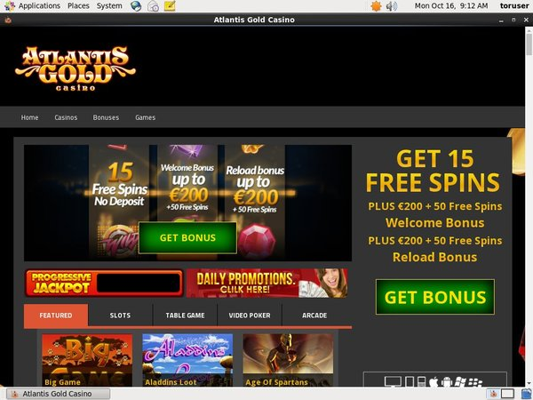 Atlantisgold Casinos Online