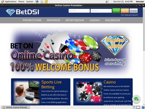 BetDSI Betting Offers