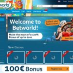 Betworld Welcome Bonus Offer