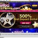 Bingo Hollywood First Deposit Bonus