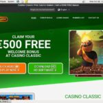 Casino Classic Mobile 300 Bonus