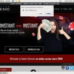 Casino Extreme Bonus Offer