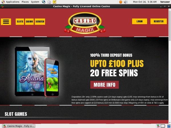 Casino Magix Casinos Online