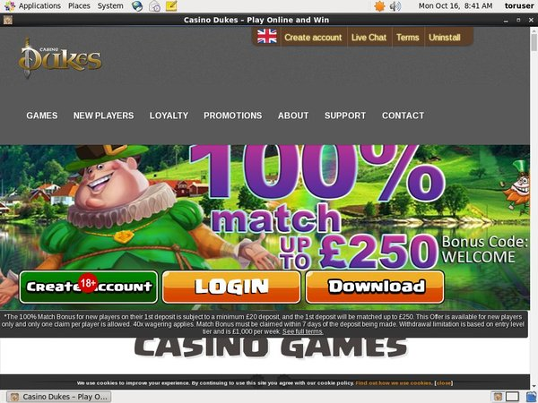 Casinodukes For Free