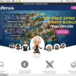 Casinoheroes Join Free Bet