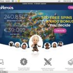 Casinoheroes Limited Bonus