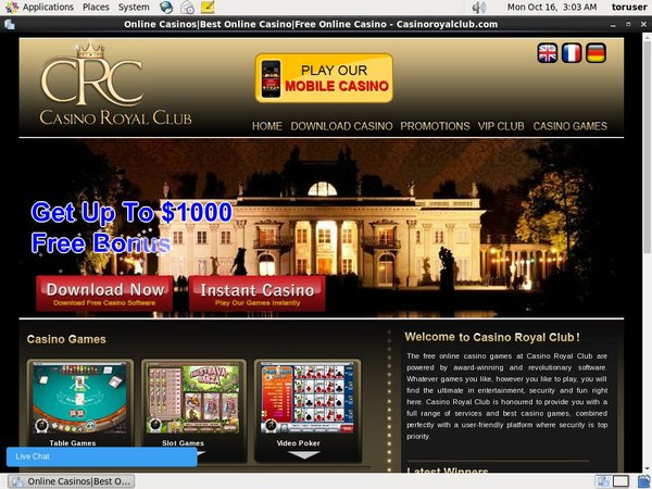 Casinoroyalclub Rewards Code