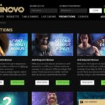 Casinovo Promotions Signup Bonuses