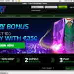 Crazycasino First Deposit Bonus