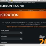 Goldrun Setup Account