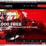 Joining Fone Casino