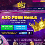 King Jackpot Using Paypal