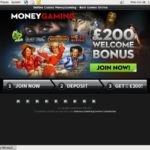 Money Gaming Deposit Bonus Code