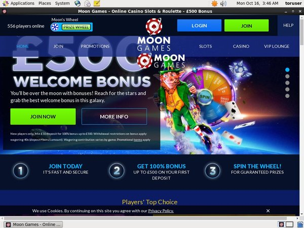 Moongames No Deposit Casino