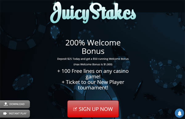 New Juicy Stakes Account