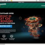 Paddy Power Poker Entercash