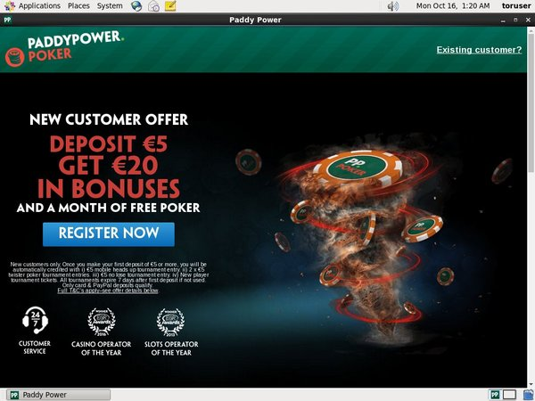 Paddy Power Poker Paybill
