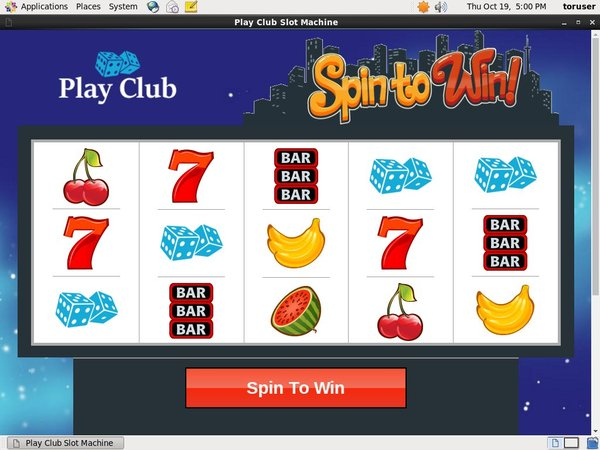 Play Club Online Casino Jackpot