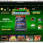 Plenty Jackpots Register Page