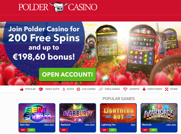 Poldercasino Online Casino Sites