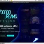 Register For Voodoodreams