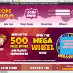 Scope Bingo Welcome Bonus No Deposit