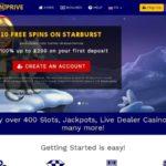 Spin Prive Casino Promo