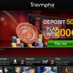 Triomphe Casino Welcome Bonus No Deposit