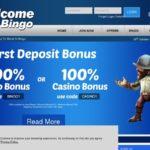 Welcome Bingo Make Deposit