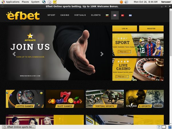 Efbet Spins Free