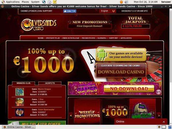Silver Sands Casino Vip Level