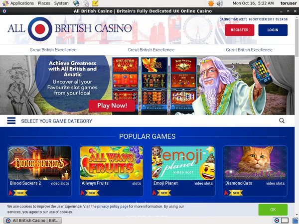 Allbritishcasino Free Bet Bonus