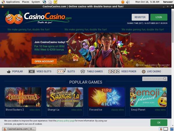 Promotions Casinocasino
