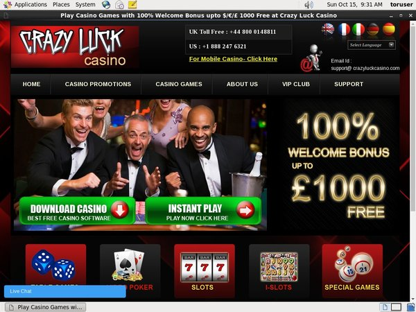 Casino Luck Casino Wire Transfer