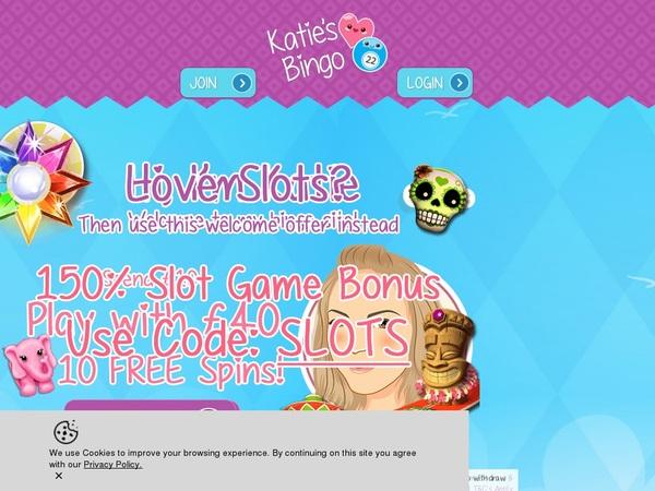 Katies Bingo Vip Deposit Bonus