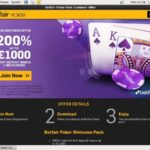 Betfair Poker And Casino Deposit Page
