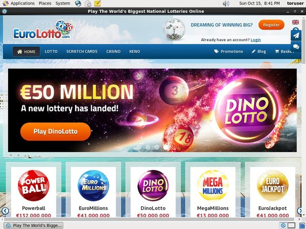 Joining Eurolotto