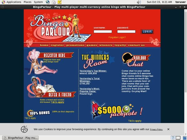Live Casino Uk Bingoparlour