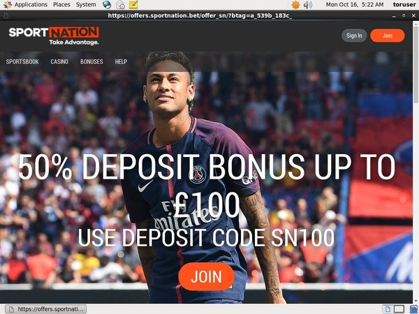 Sport Nation Live Dealer
