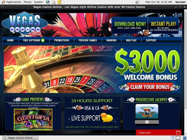 Vegas Casino Online Deals