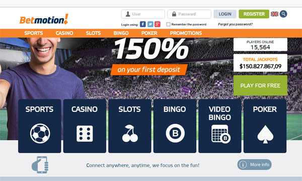 How To Create Bet Motion Account