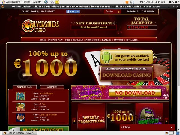 Silver Sands Casino Coupon
