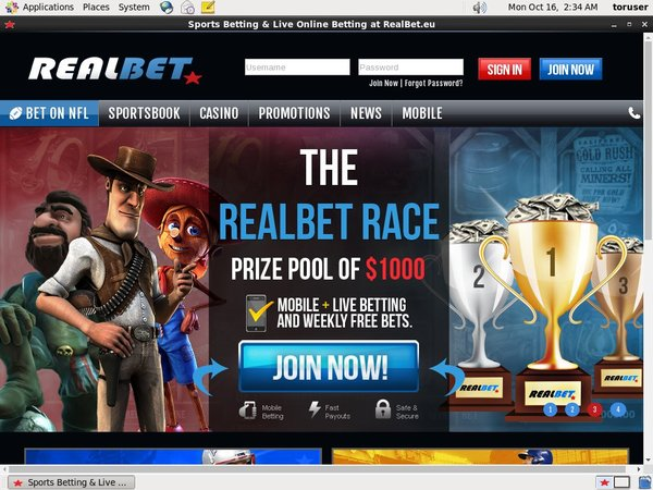 Welcome Real Bet Bonus