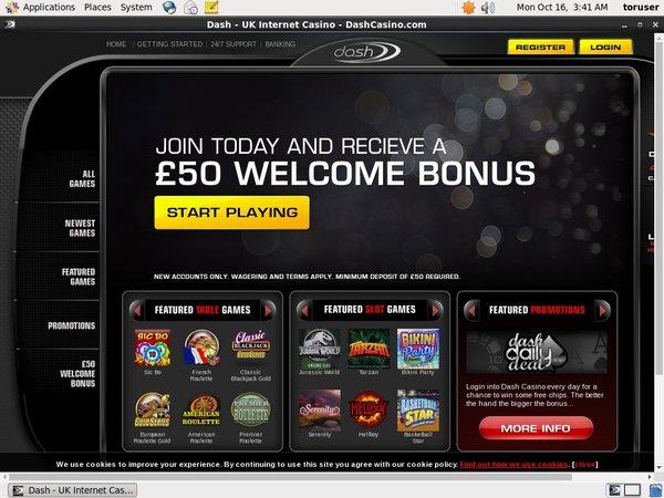 Dash Casino Verification