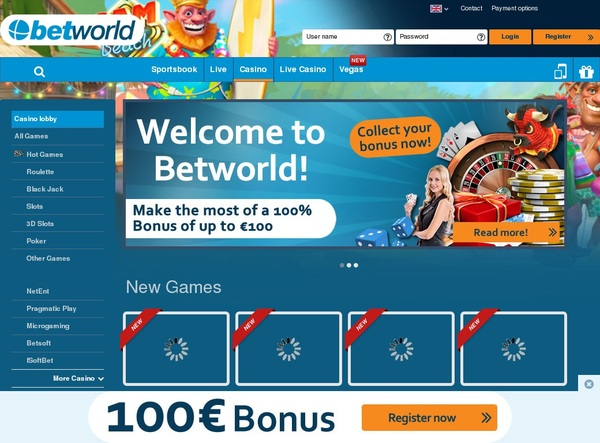 Betworld Online Casino Schweiz