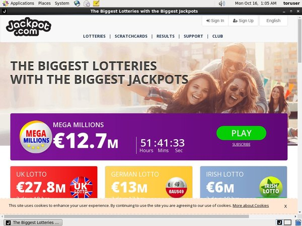Jackpot.com How To Sign Up