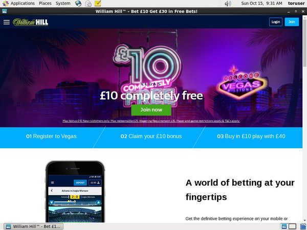 William Hill Online Casino Websites