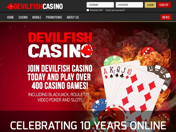 Devil Fish Casino Deposit