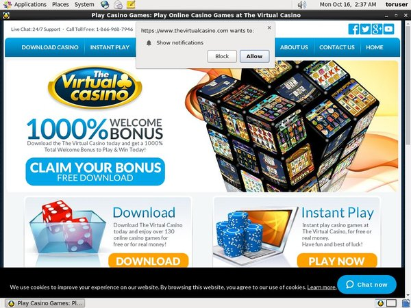 Virtual Casino Online Roulette