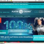 Platincasino Verification